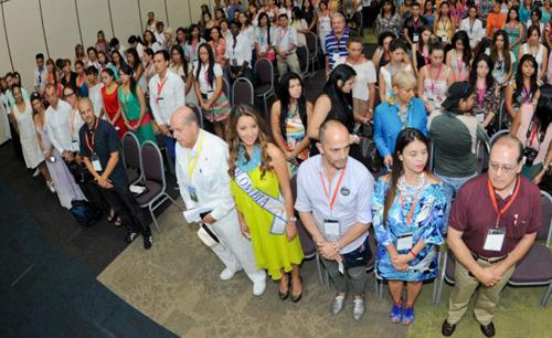 Apertura del Ixel Moda, con distinguidas autoridades de Cartagena y de Colombia.