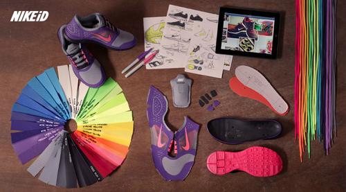 Nike ID Apps Ecosystem. Pioneros en herramientas de Co-creación para su comunidad.