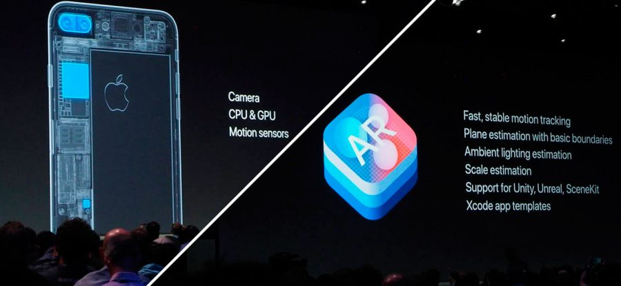 Apple ARKit. Hardware de alto rendimiento.
